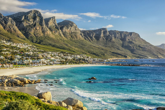 Cape Town beach South Africa