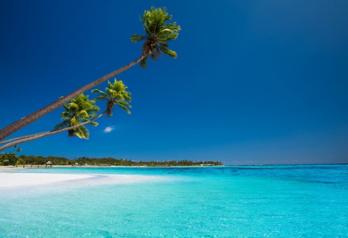 Tropical beach Fiji