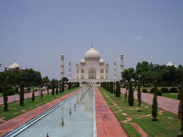 The Taj Mahal in India