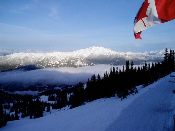 Whistler mountain British Columbia Canada