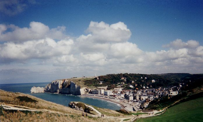 Etretat Normandy in Northern France