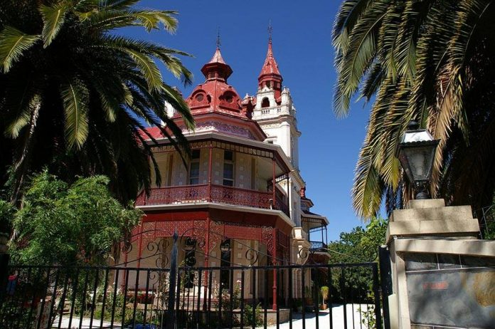 Old mansion at Tranmere, Adelaide, Australia.